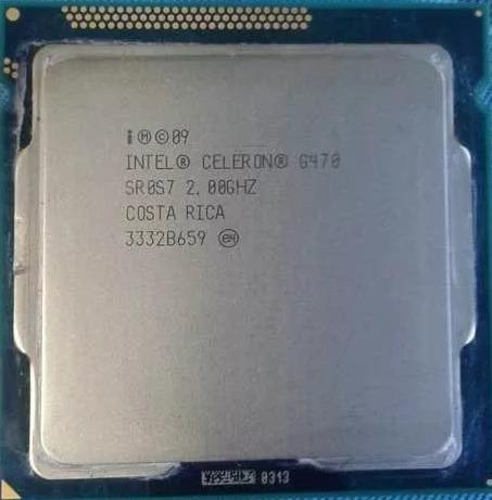 Processador Intel Celeron G470 Perfeito Estado