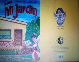 Libro Mi Jardin O Angelito Digital Pdf Full Color