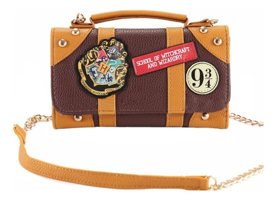 Cartera Harry Potter - Bolso Hogwarts - Billetera Hp-redsale