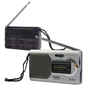 Magro Am/fm Mini Rádio Mundial