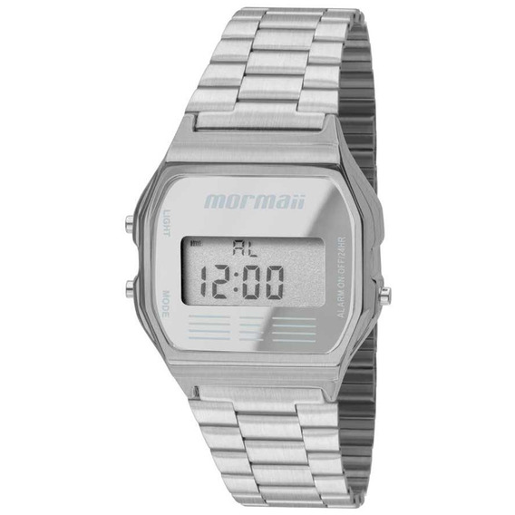 Relógio Mormaii Feminino Quadrado Mojh02aa/3c - Digital