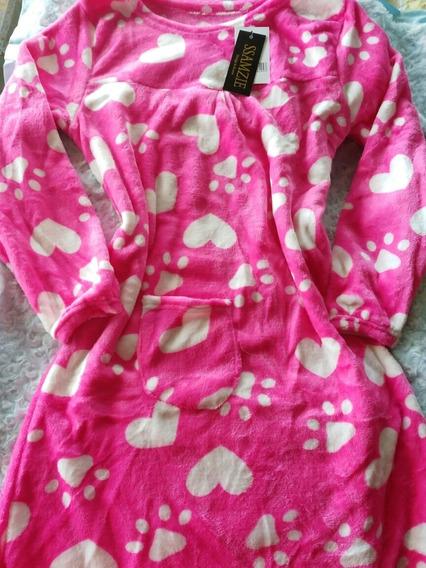 Pijamas Para Dama Batas Para Dormir Pantalón Tela Peluche