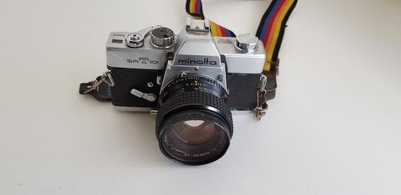 Câmera Fotográfica Minolta Srt 101 No Estado