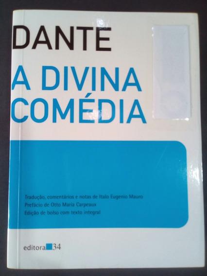 A Divina Comédia (dante) Volume Único/completo