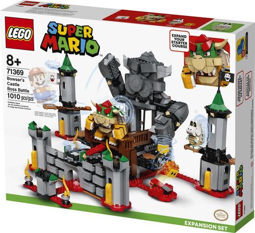 Lego Mario Set: Batalla Final  El Castillo De Bowser
