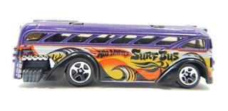 Hotwheels Surfin School Bus Ônibus Roxo 2000 1:64 Loose