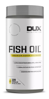 Fish Oil (120 Caps) - Dux Nutrition - Alta Concentração