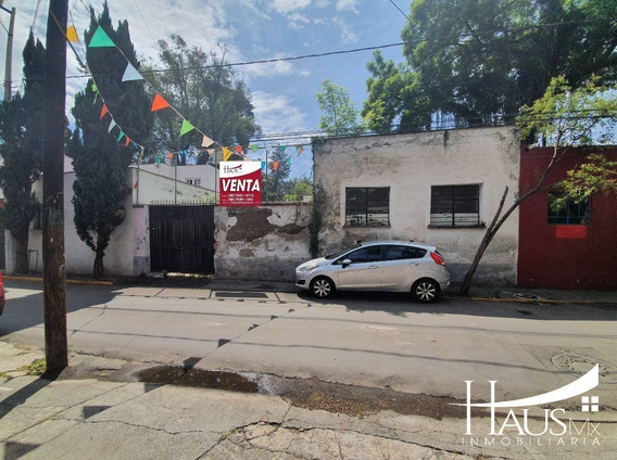 Exclusivo Terreno En Centro De Tlalpan