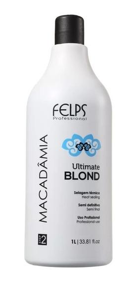 Felps Pro Macadâmia Ultimate Blonde - Selagem Térmica 1l