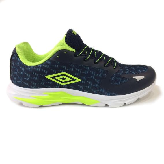 Zapatos Umbro Originales Para Damas - Um16575w - Navy Lime