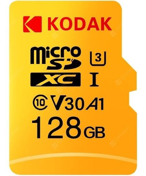 Cartão De Memória Kodak Original 128gb Novo Lacrado Grava 4k