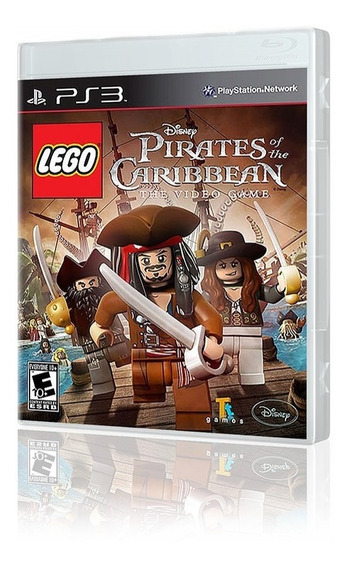Lego Piratas Do Caribe Original Novo Ps3
