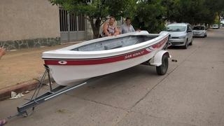 Isleña 470 Pescadora Directo De Fabrica Casco Solo