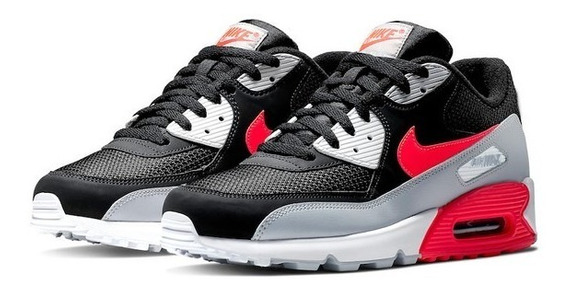 Nike Air Max 90 Essential Black Infrared - Us12.5 Br45 Ds
