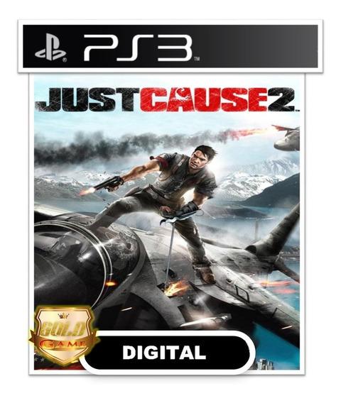 Just Cause 2 Ps3 Psn Digital Envio Rapido Jogos Baratos Ps3