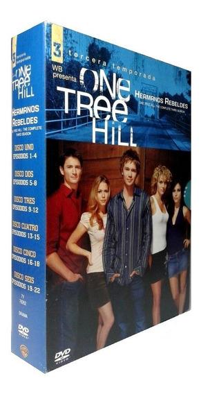 One Tree Hill Hermanos Rebeldes Tercera Temporada 3 Tres Dvd
