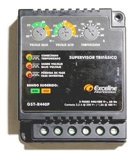 Supervisor De Voltaje 440/480v Trifasico A/a Bomba Compresor