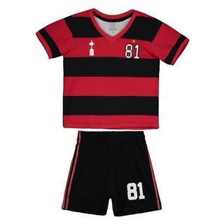 Kit Infantil Retrômania Flamengo 1981