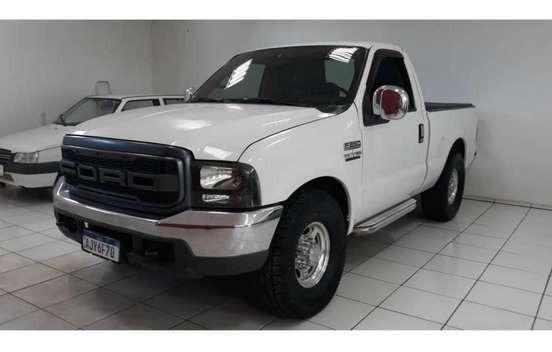 Ford/f-250 Xlt L 2001 6 Cilindros 180cv Turbo Diesel Linda!!