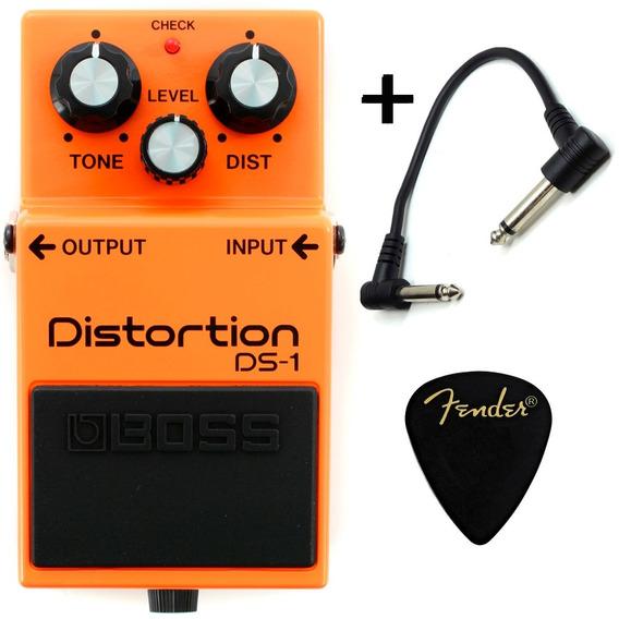 Boss Ds-1 Distortion - Pedal De Distorção + Brindes Garantia