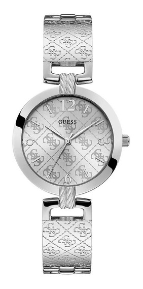 Relógio Feminino Guess W1228l1 Prata Original