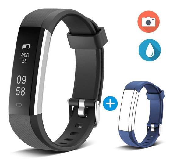 Pulsera Inteligente Podómetro Monitor De Sueño Smart Watch