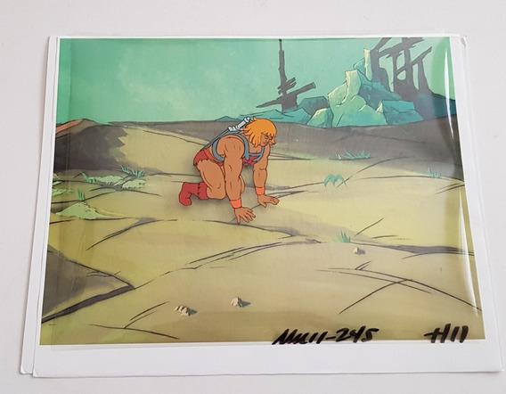 He-man Celda De Animacion Original Con Certificado