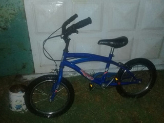 Vendo Bicicleta ,tamaño Chica,Color Azul . Poco Uso