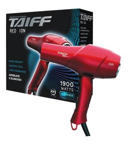 Taiff Red Íon 1900w Secador Capilar 220v