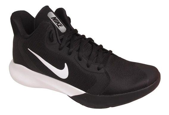 Tênis Masculino Nike Air Precision Iii - Preto E Branco