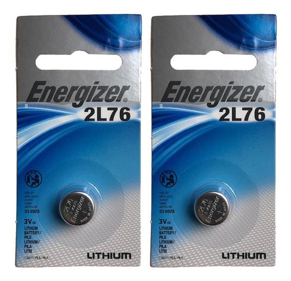 Bateria 2l76 / Cr1/3n Energizer 3 Volts 02 Unidades Original