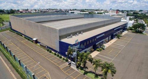 Galpão Modular Para Locação, Condomínio Fechado, Techno Park, Campinas. - Ga0207