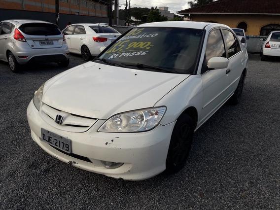 Honda Civic 1.7 Lx 16v Gasolina 4p Automático 2005/2005
