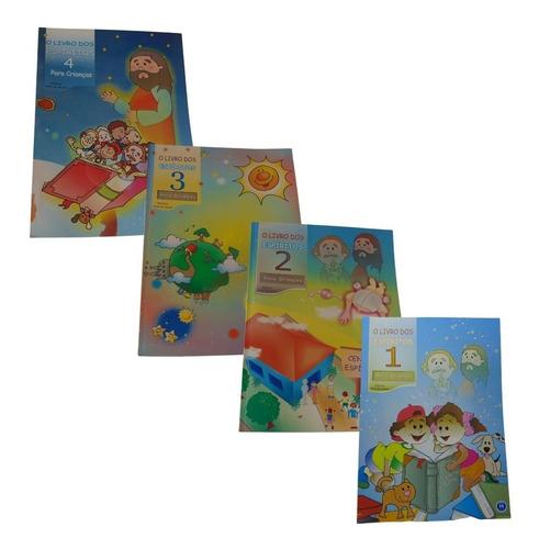 Imagem 1 de 5 de Kit O Livro Dos Espíritos Para Crianças - Volume 1,2,3 E 4