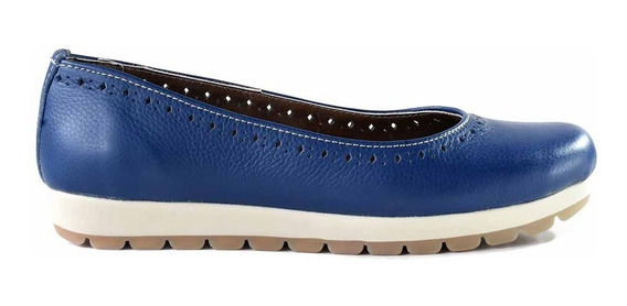 Mocasin Zapato Cuero Mujer Briganti Chatita - Mccha2939