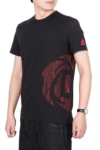 Oferta Playera adidas Derek Rose Big Logo Dry Cell