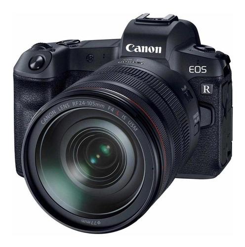 Canon EOS R 24-105mm IS USM Kit mirrorless cor preto