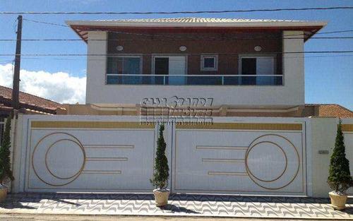 Imagem 1 de 14 de Excelente Sobrado De Condomínio Em Praia Grande, Balneário Maracanã - V5143