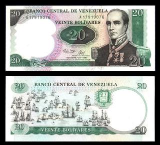 Billetes Rafaelurdaneta Serialesconsecutivos 20 Octubre 1987