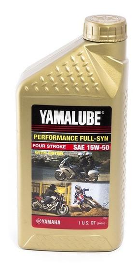 Aceite Yamalube 15w50 Full Sintetico 1 Litro