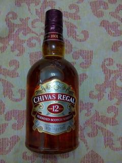 Whisky Chivas Regal 12 Años 750 Cc