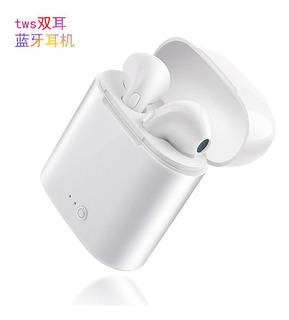 Branco Fone De Ouvido Sem Bluetooth I7s Tws Bluetooth Fone D