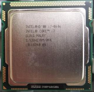 Intel I7 760s Lga 1156