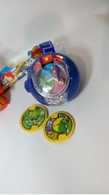Yo-kai Wacth Som E Luz + 3 Bonecos C/luz + 3 Medalha -até 6x