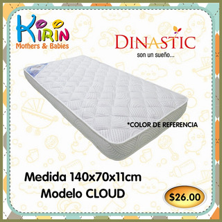 Kirin Colchón Cuna Corral Suave Calidad Premium 140x70x11cm