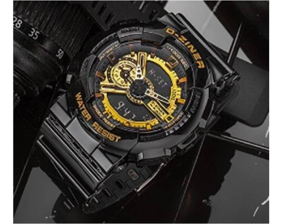 Relógio Masculino Digital E Analógico Modelo Dz3398 D-ziner