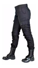Calça Tatica Feminina Preta / Agente / Segurança / Policial
