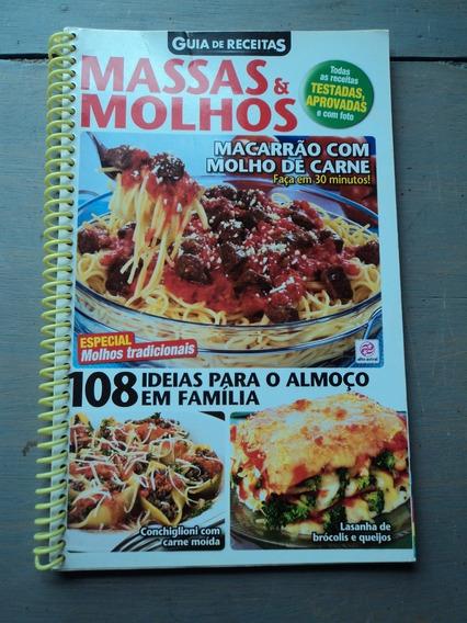 Lote C/05 Revistas De Culinária-coleção Guia De Receitas