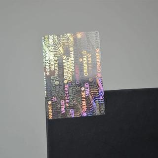 1000 Hologramas De Seguridad Genuino Y Original 30 X 20 Mm