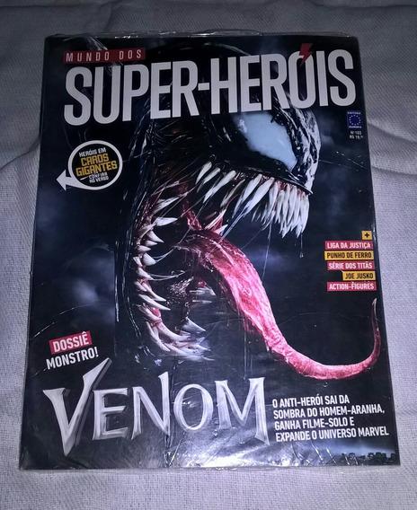 Revista Mundo Dos Super-heróis N° 103 Ed. Europa Venom